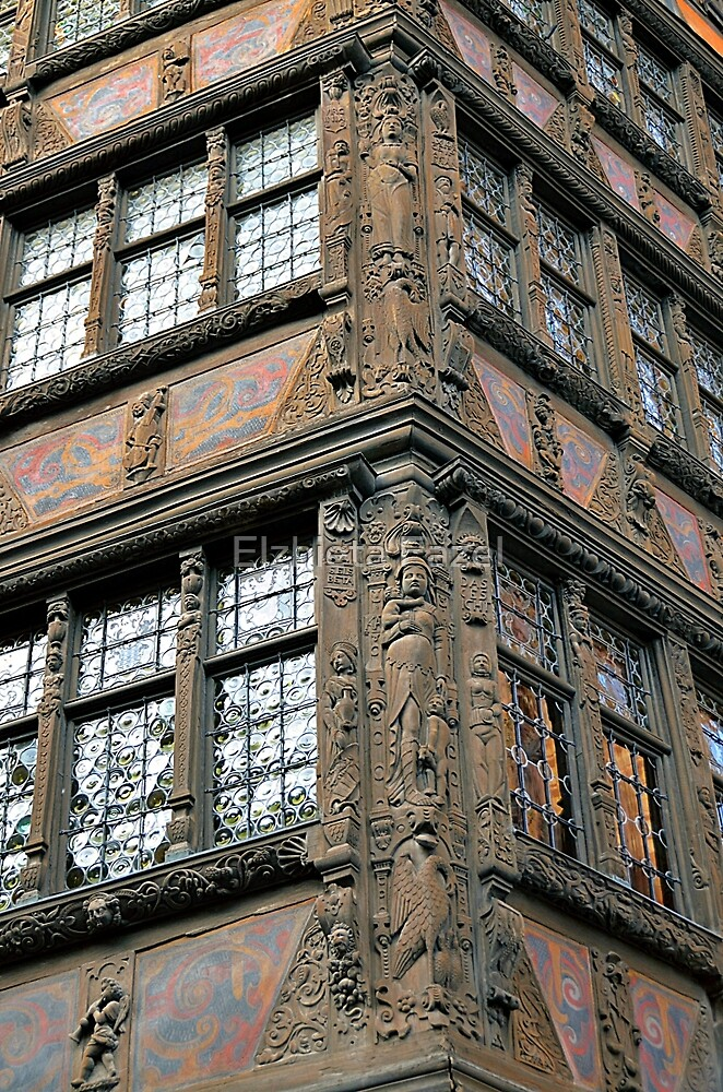 German Renaissance in France: Kammerzell House in Strasbourg by Elzbieta Fazel