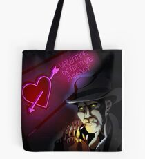 Nick Valentine Synth Detective Tote Bag