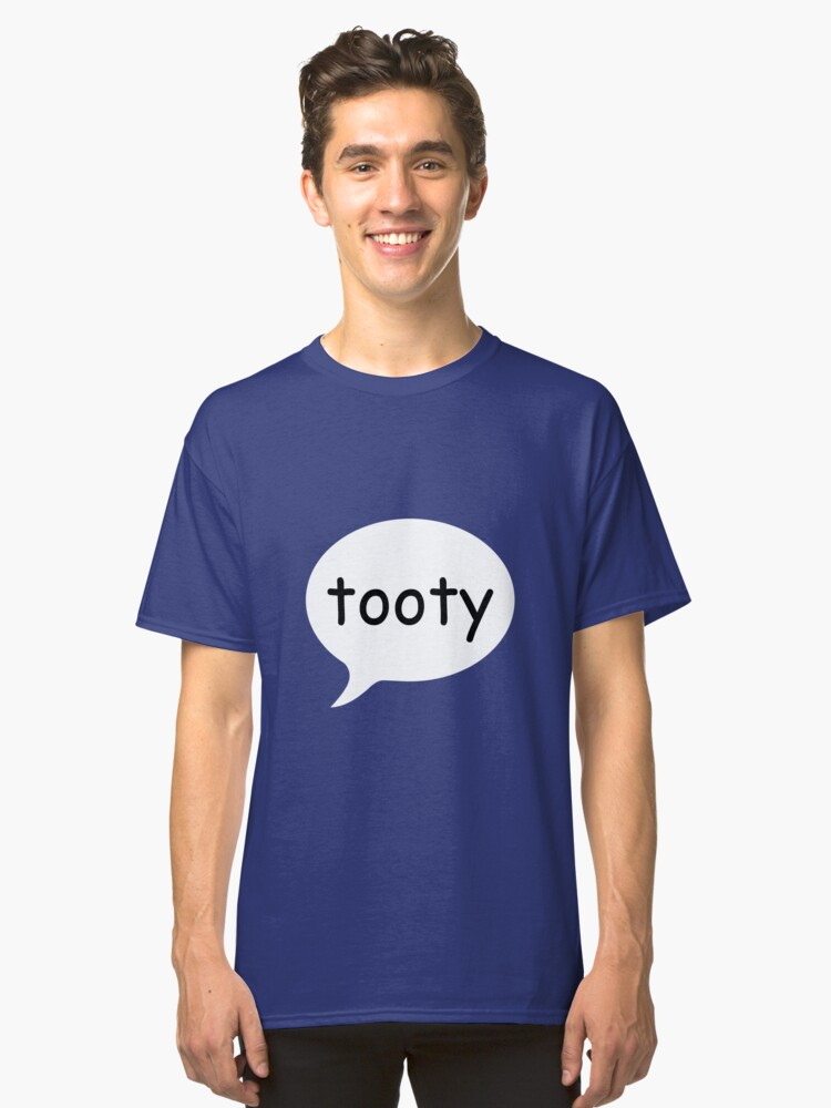 TOOTY Speech Bubble Classic T-Shirt Front