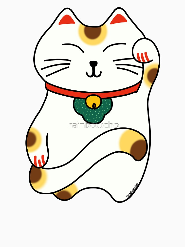 Maneki Neko - Japanese lucky cat by rainbowcho