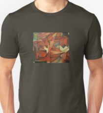 Foxes - Homage to Franz Marc (1913)     Unisex T-Shirt