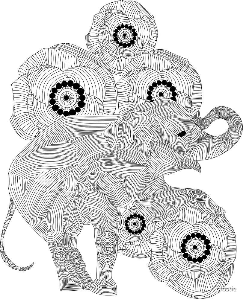 Elephant Design by cfostie