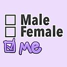 Third Option • Male, Female, ME • Non-Binary by riotcakes