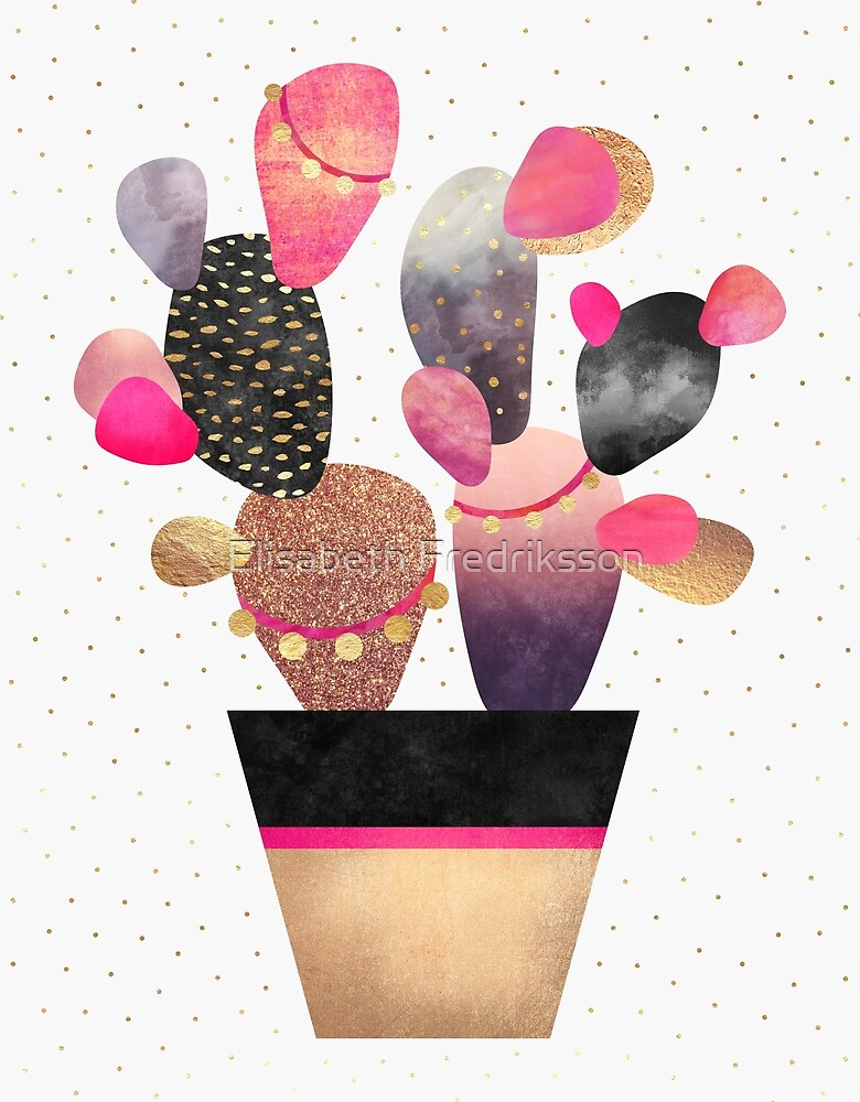 Happy Cactus 2 by Elisabeth Fredriksson