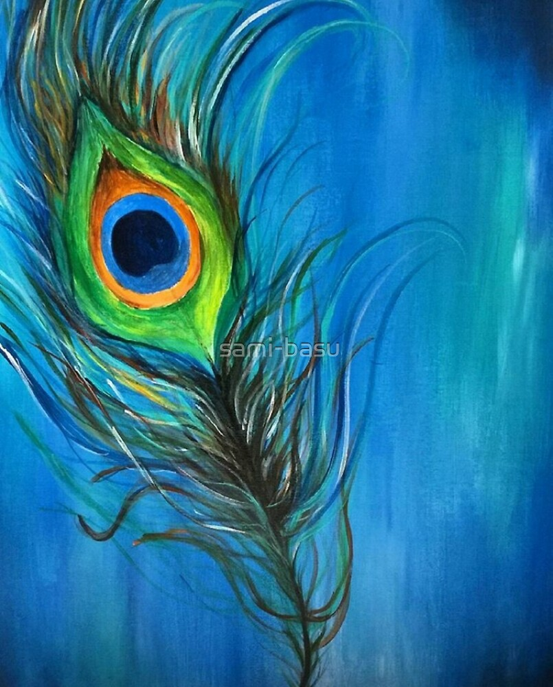Peacock Feather by sami-basu