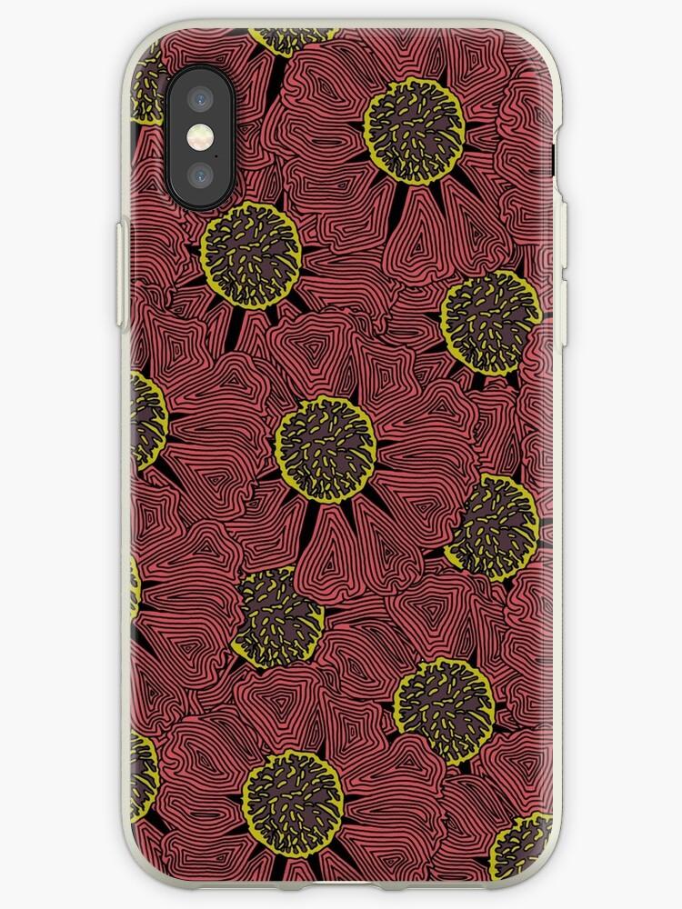 Floral crazy line illustration  by Kathrynsarah