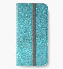 Shiny Texture Sparkley iPhone Wallet