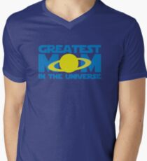 Greatest Mom In The Universe Mens V-Neck T-Shirt