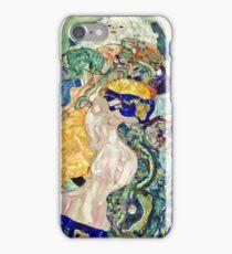 Gustav Klimt - Baby (Cradle)  iPhone Case/Skin