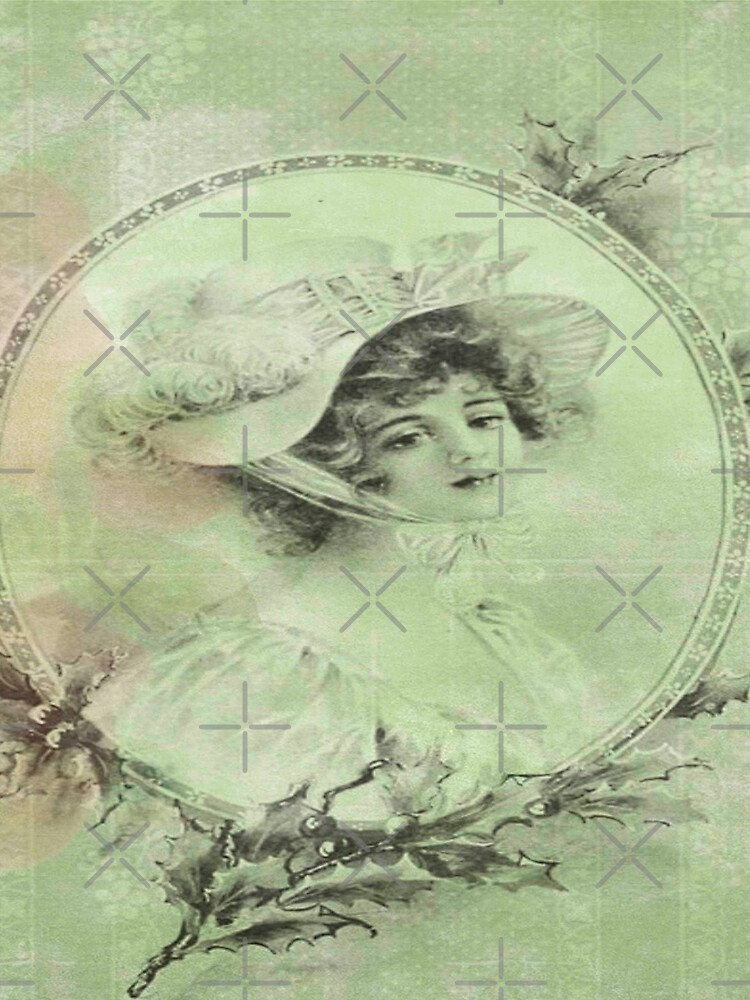 shabby chic,victorian,beautiful young lady,green,rustic,grunge,country chic,old by love999
