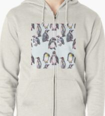 Penguin Party Zipped Hoodie
