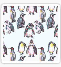 Penguin Party Sticker