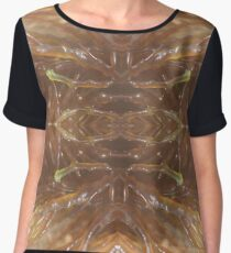 Red and green knobbly seaweed - 2016 Women's Chiffon Top