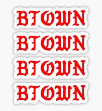 BTOWN Sticker
