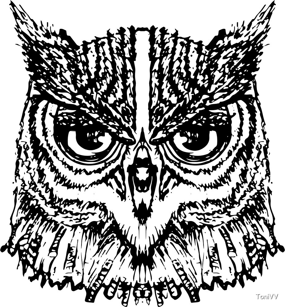 Owl Vector by ToniVV