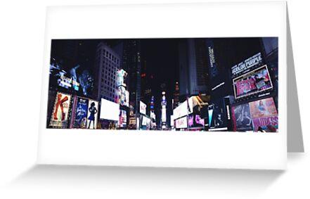 New York Times Square NY by jademarina