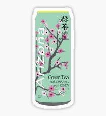 Arizona Green Tea Can Sticker