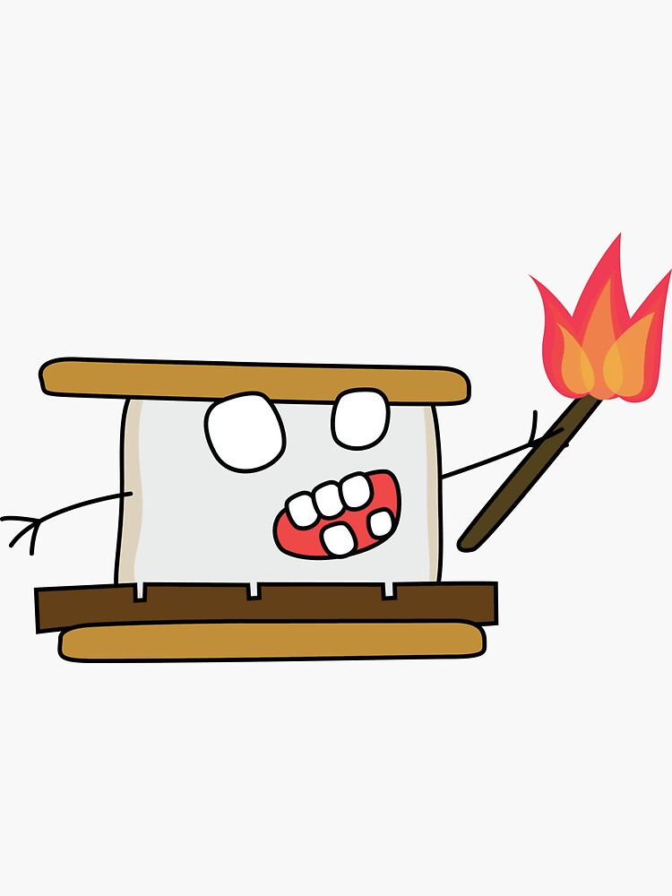 angry zombie s'more by shortstack