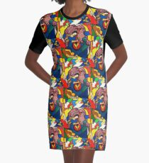In Paradise  (ORIGINAL SOLD) Graphic T-Shirt Dress