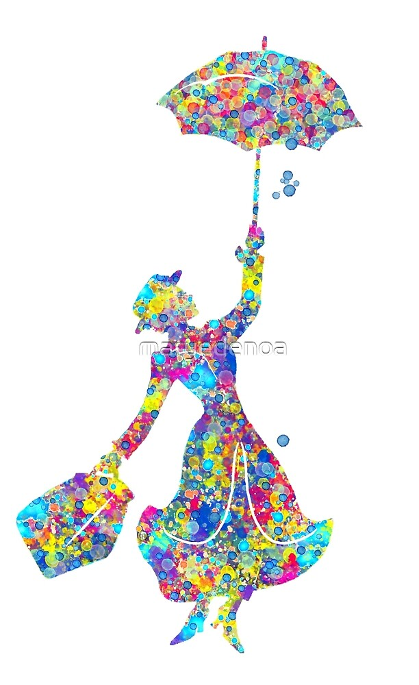 Mary Poppins - The Magical Nanny by maryedenoa