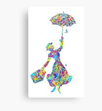 Mary Poppins - The Magical Nanny Canvas Print