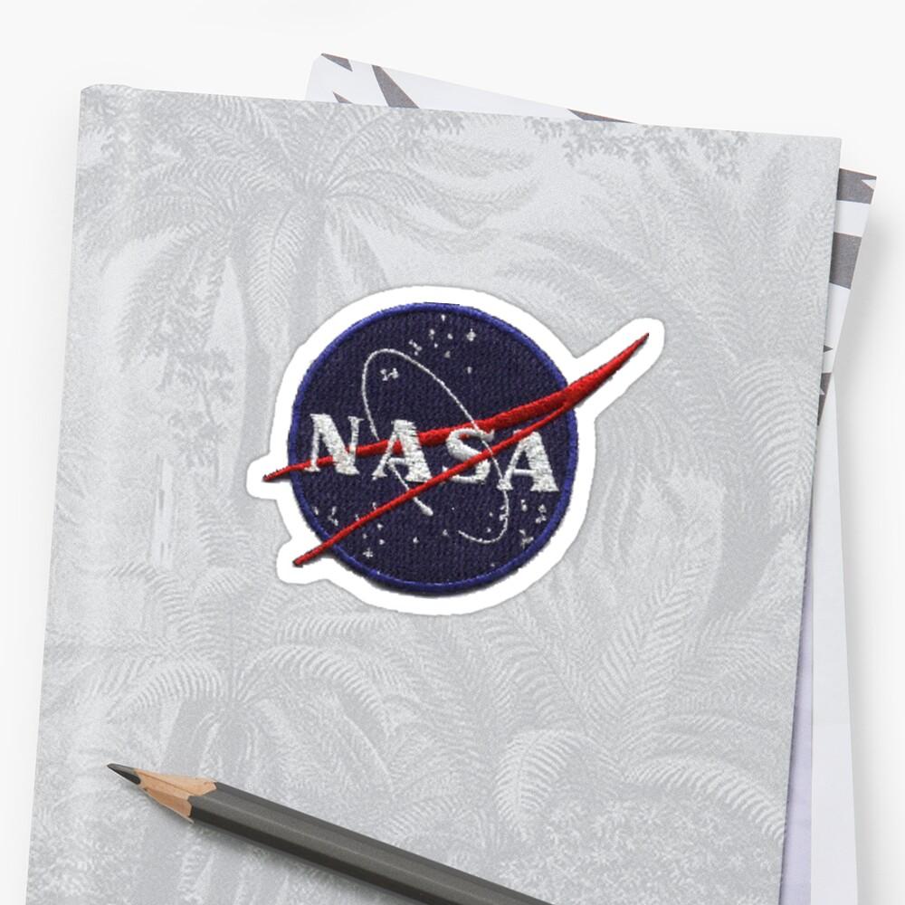 NASA patch sticker by bodyghost