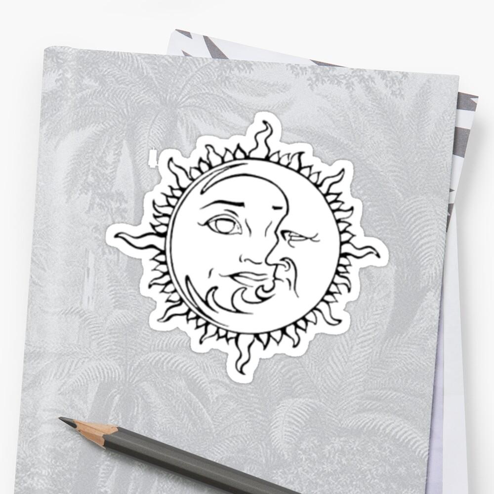 Sun & Moon sticker by bodyghost