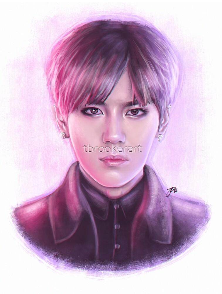 Suwoong (Boys Republic) - Digital Painting by tbrookerart