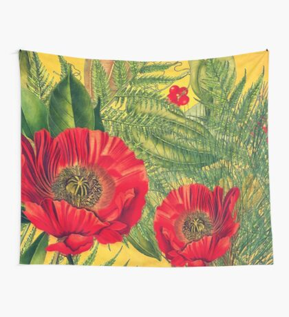 flora 4 Wall Tapestry