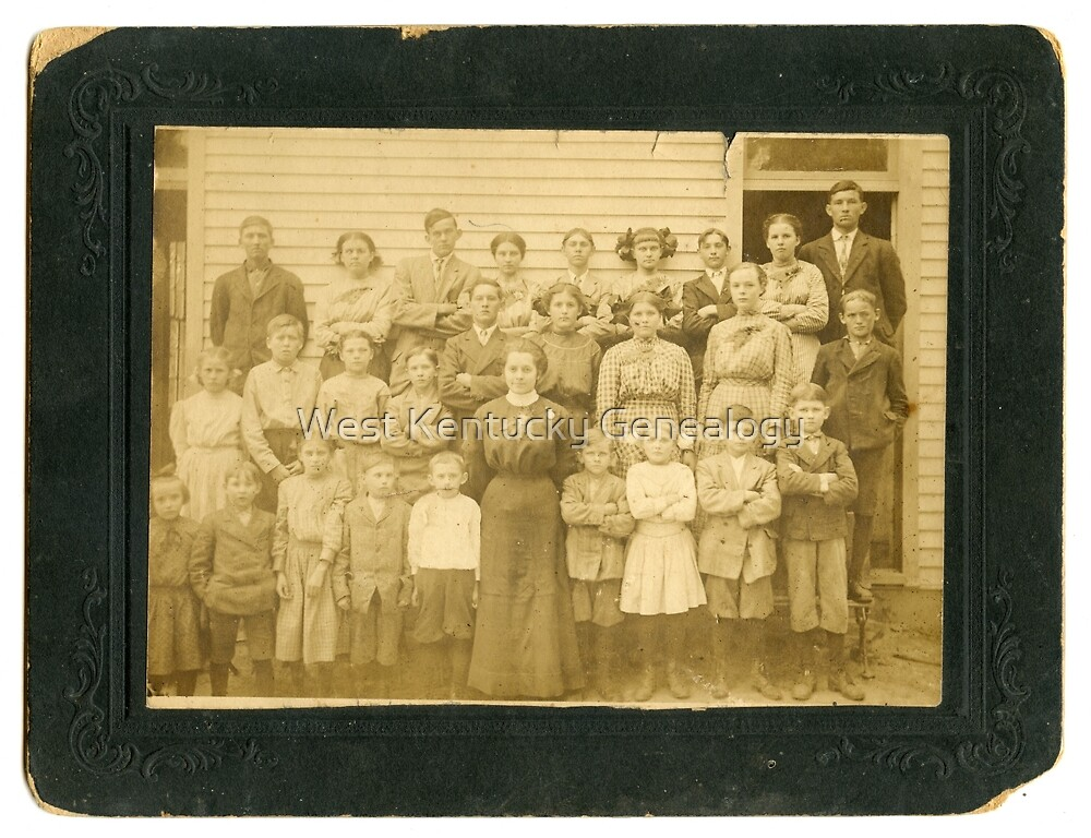 Unknown School, Calloway County, Kentucky Area  by Don Howell