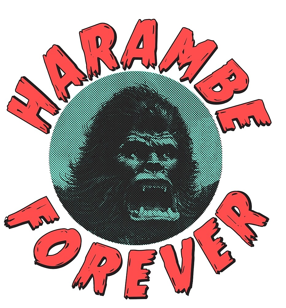 Harambe Forever by colombeat