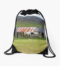 The Barns Of Urris.................................Ireland Drawstring Bag