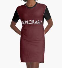 Deplorable Graphic T-Shirt Dress