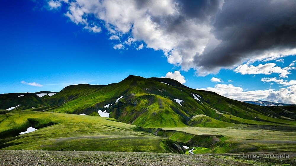 Domadalur Iceland by James  Luccarda