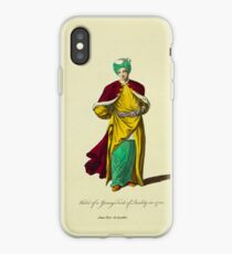 Habit of a young Turk of quality in 1700 Jeune Turc de qualité 303 iPhone Case