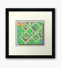 Earthbound: Fourside Framed Print