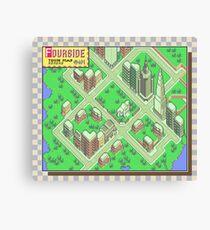 Earthbound: Fourside Canvas Print