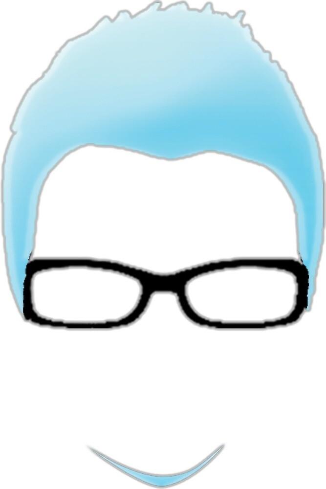 Man with glasses by KawaiiGuys1996