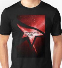 Mirror's Edge Minimalist Nebula Design T-Shirt