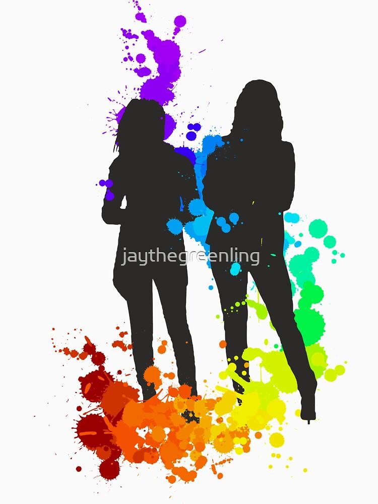 Rainbow Figures by jaythegreenling