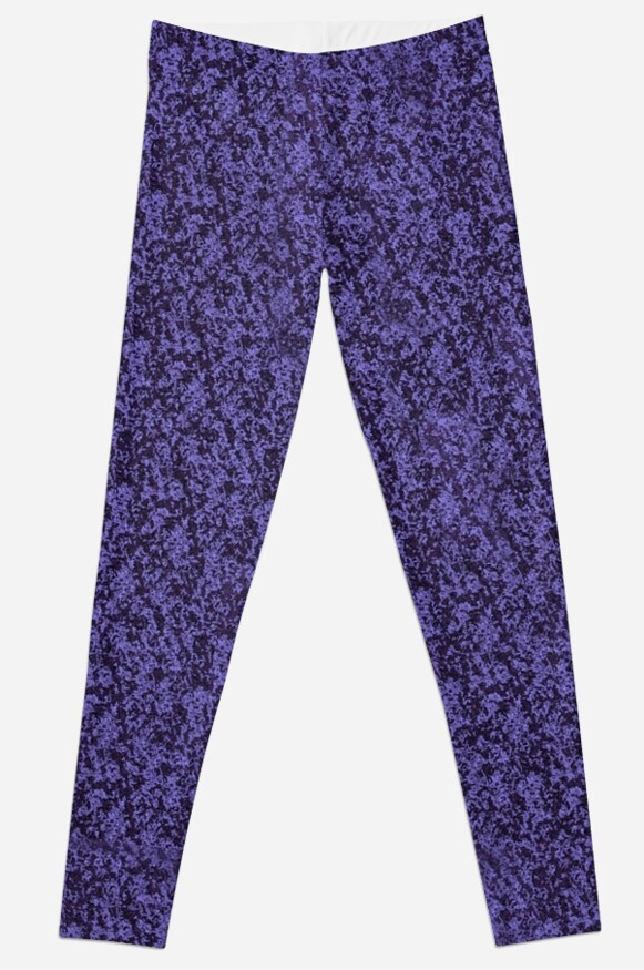 Purple and Black Tonal Print by JMarielle