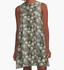 Cacti at the Serres d'Auteuil Botanical Gardens A-Line Dress