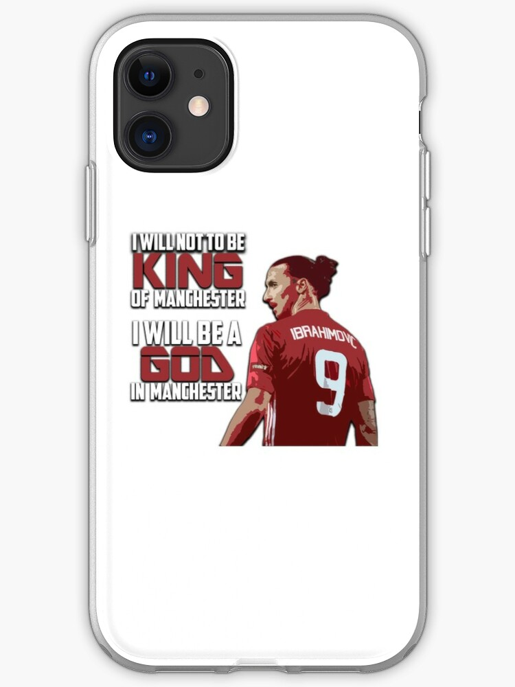 Zlatan Ibrahimovic Manchester iphone case