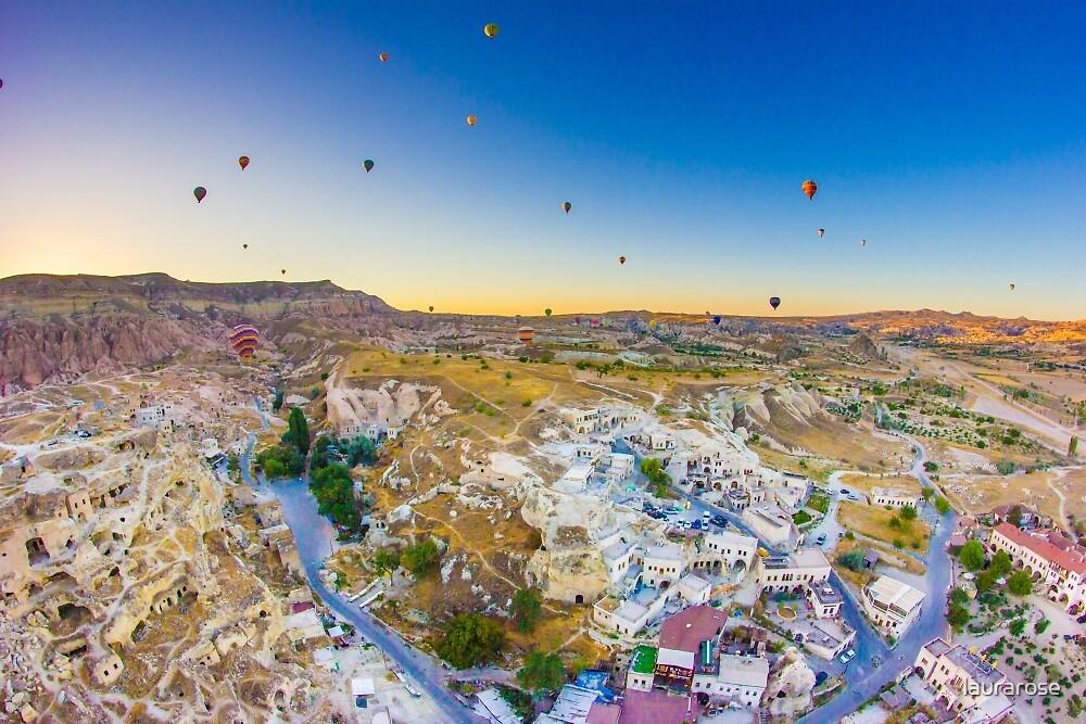 Cappadocia Hot Air Balloon III by laurarose