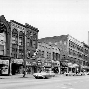 East Federal Street - Downtown Youngstown, 1960s - Rocky's by MetroStore
