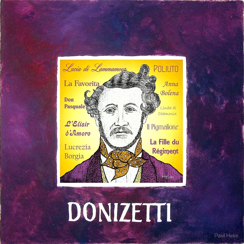 DONIZETTI by Paul Helm