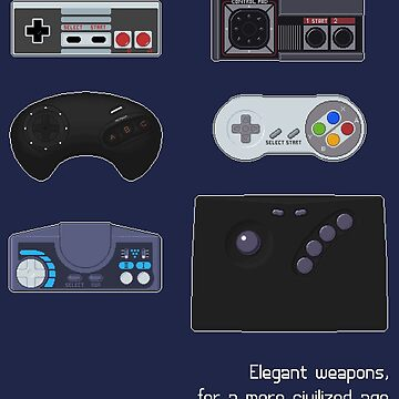 Elegant weapons, for a more civilized age by agateau