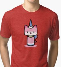 Hello Unikitty Tri-blend T-Shirt
