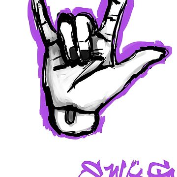 ResinSwag BJD Hand Purple by ResinSwag