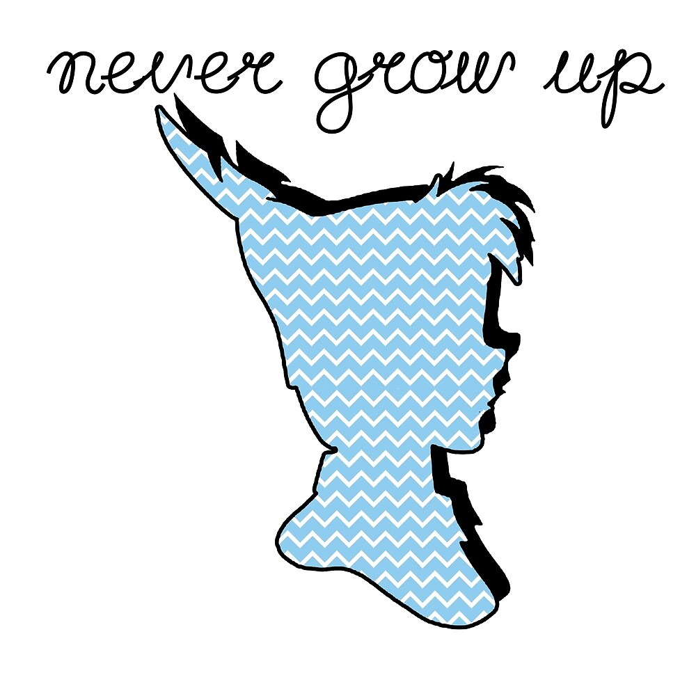 Never grow up peter pan by winchepond